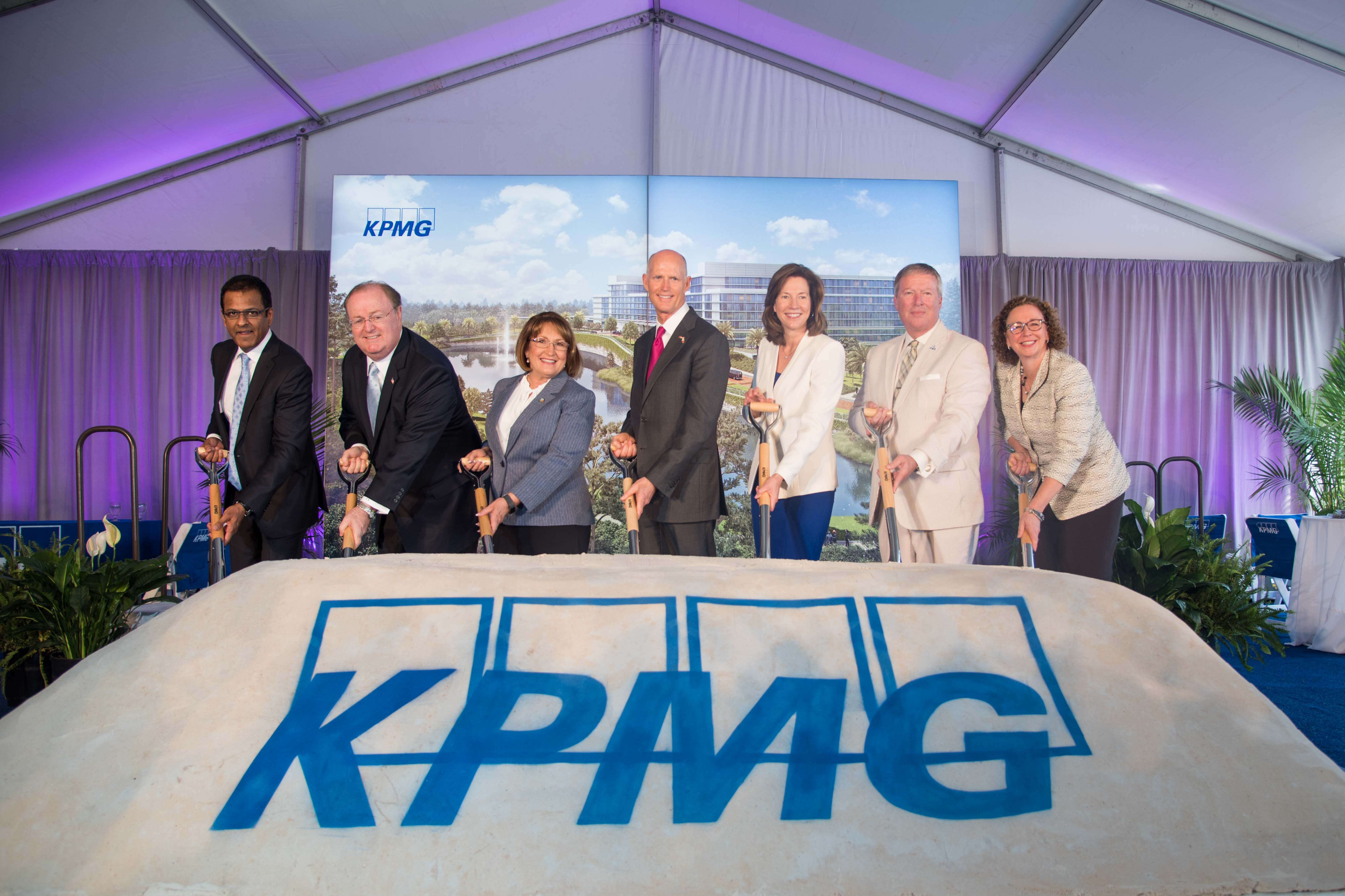 KPMG breaks ground onits largest project ever