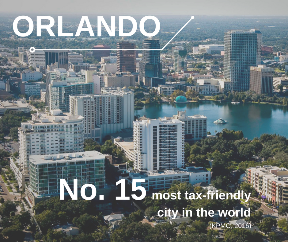 KPMG Ranks Orlando Among The Worlds Most Taxfriendly Cities - The 15 most unfriendly cities in america