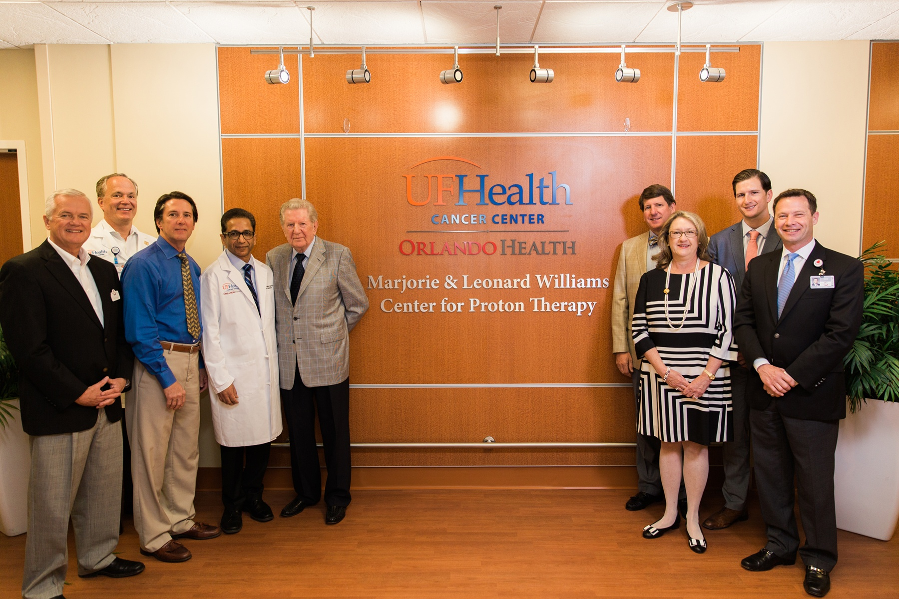 New proton therapy cancer treatment center opens in Orlando
