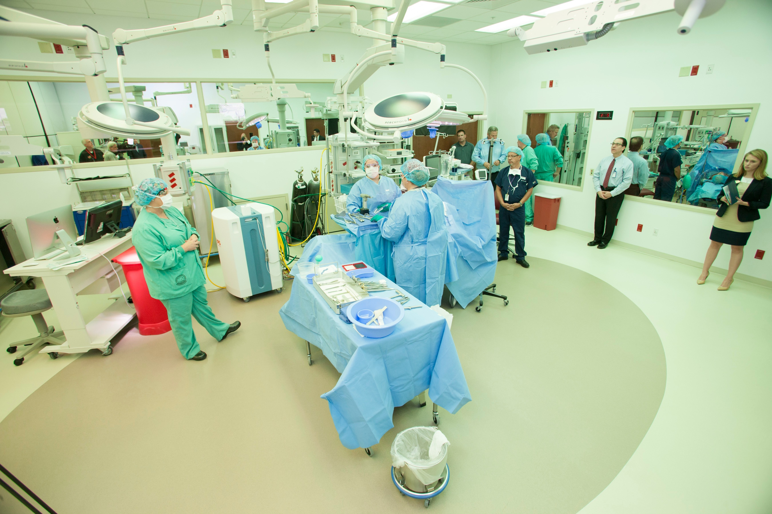 Largest VA medical simulation center opens in Lake Nona