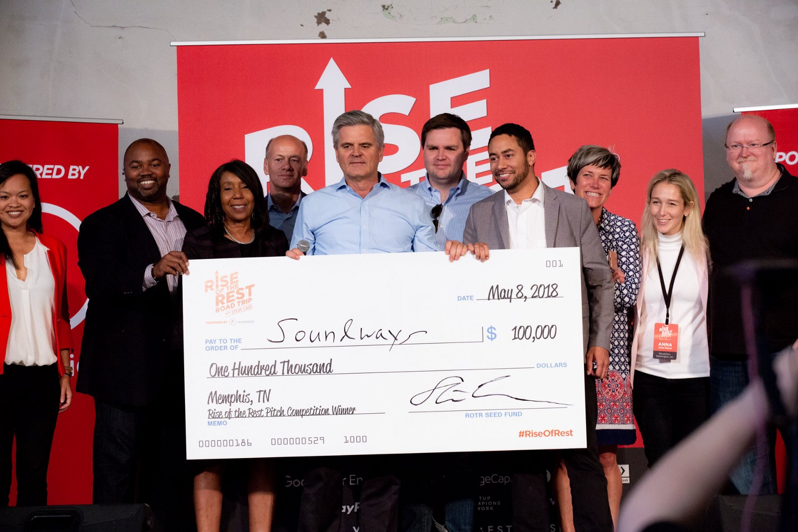 Rise of the Rest Road Trip Orlando Startup Pitch Competition