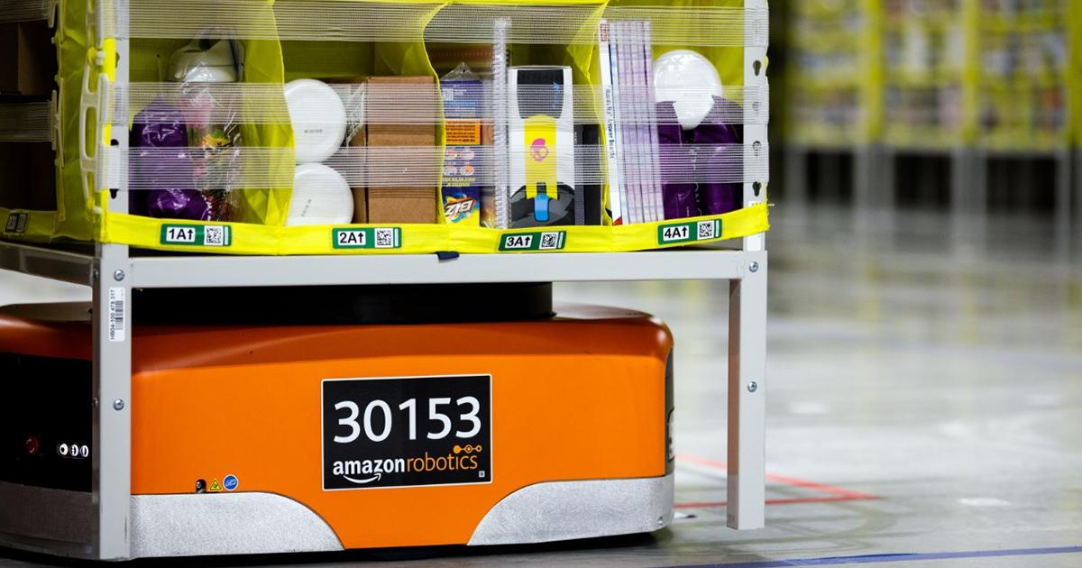 Amazon Robotics Drive Unit WEB