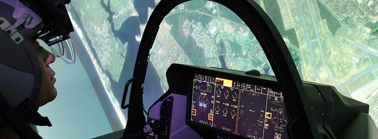 F-35 Full Mission Sim blog