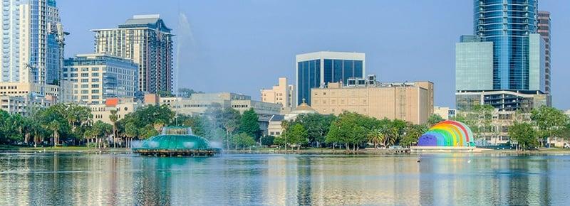 Lake Eola Downtown Orlando