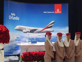 Orlando welcomes Emirates Airlines